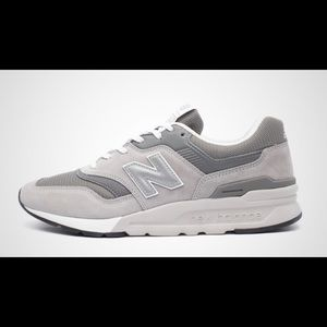 New Balance 997 Grey White Running Shoes Mens 8.5